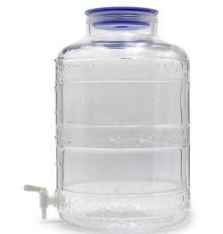 glass carboy with spigot