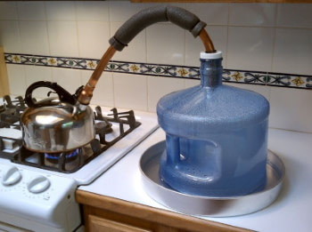 homemade stovetop still