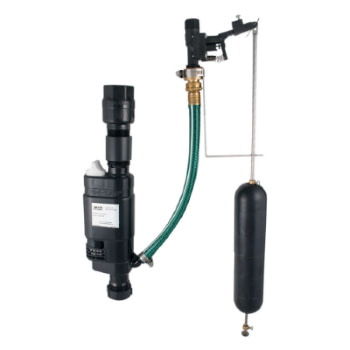 water powered sump pump