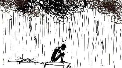Shungite relieving depression