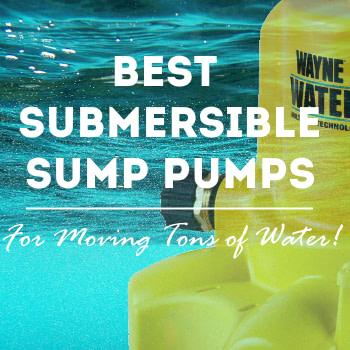 best submersible sump pumps