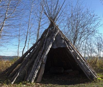 large teepee shelter