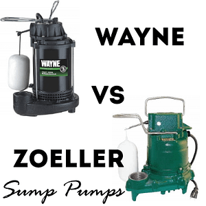 wayne vs zoeller sump pump