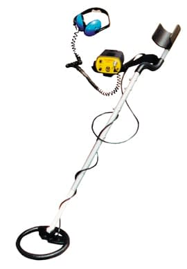 pulse indication metal detector example