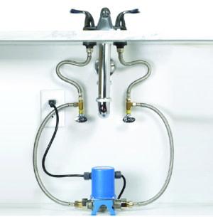 undersink recirculating pump