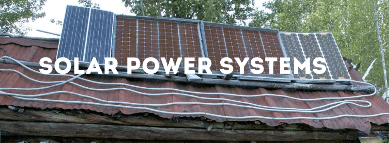 solar power systems graphic