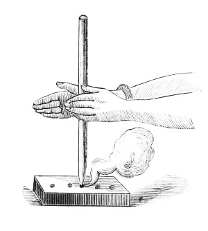 hand drill for fire making