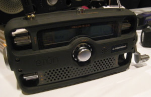 hand crank radio for emergencies