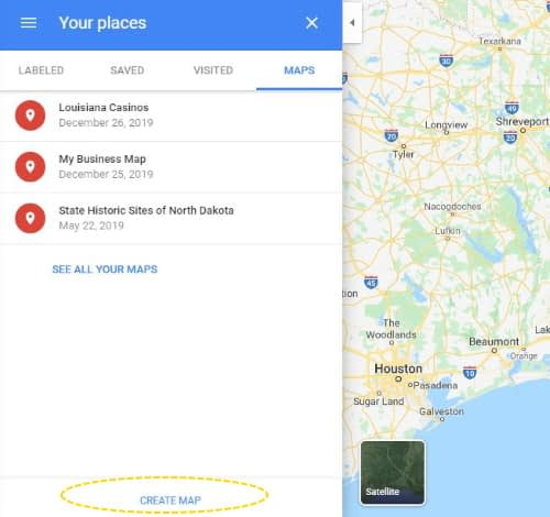 making a custom google map