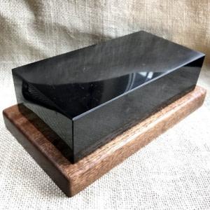 Large brick of polished Shungite stone