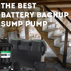 the best battery backup sump pump on the market
