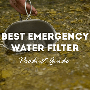 best emergency water filter product guide graphic