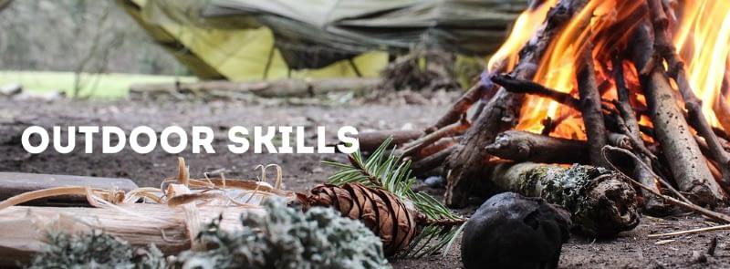 Outdoor skills page header