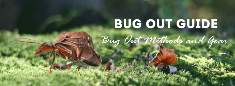 Bug out bag guide section header image