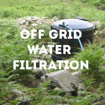 off grid water filtration guide